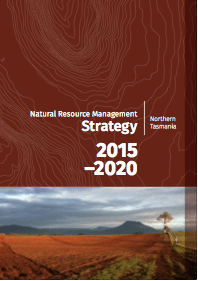 Cover image of NRM North strategy which Hit Send editors copyedited and proofread.