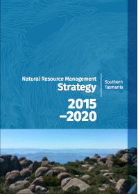 Cover image of NRM South strategy, which Mel Roome edited and proofread.