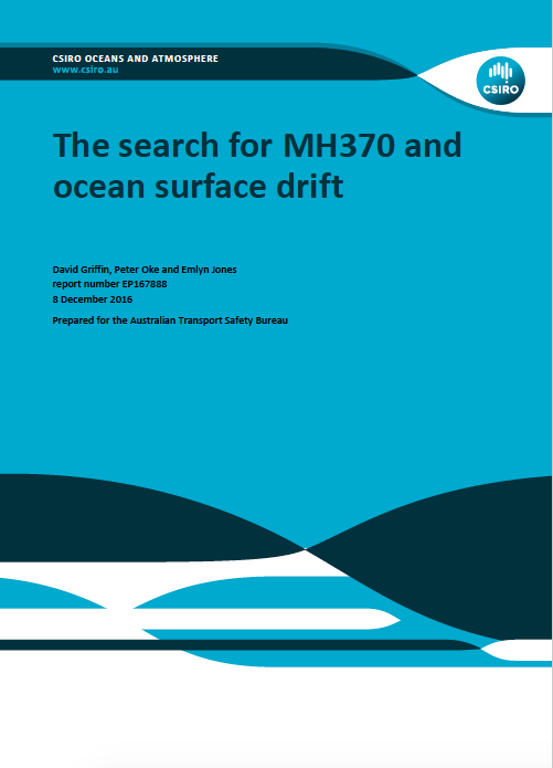 The search for MH370 and ocean surface drift