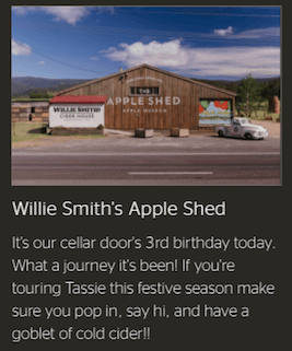 Willie Smith's Website