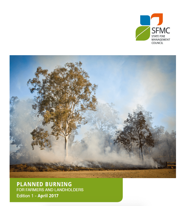 Planned Burning for Farmers and Landholders, pocket guide