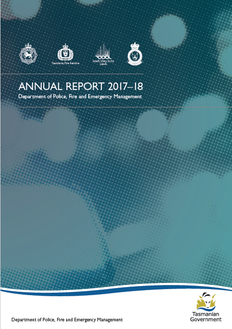Tasmania Police Annual Report 2017-18 proofread by a Hit Send editor.