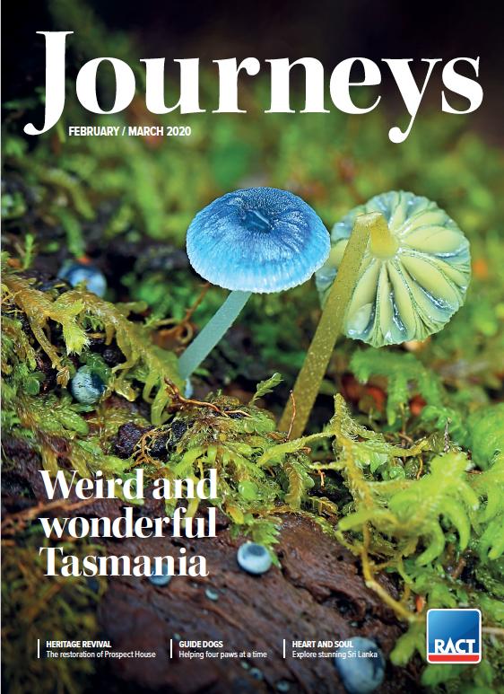 The RACT's bimonthly magazine, Journeys