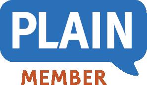 Logo of PLAIN (Plain Language Association International)