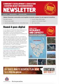 Cover image of BRN newsletter