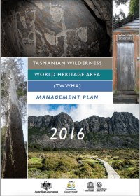 Cover image of the management plan